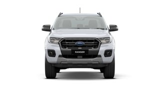 2020 Ford Ranger PX MkIII 2020.75MY Wildtrak White 6 Speed Manual Double Cab Pick Up.
