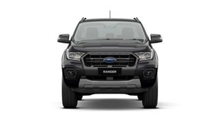 2020 Ford Ranger PX MkIII 2020.75MY Wildtrak Black 10 Speed Sports Automatic Double Cab Pick Up.