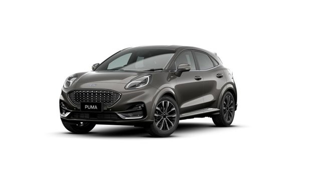 New Ford Puma JK 2021.25MY ST-Line V Ebbw Vale, 2021 Ford Puma JK 2021.25MY ST-Line V Grey 7 Speed Sports Automatic Dual Clutch Wagon