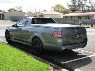 2016 Holden Ute VF II SV6 Black Prussian Steel Manual Utility