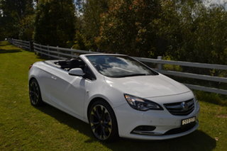2016 Holden Cascada CJ MY16 White 6 Speed Sports Automatic Convertible.