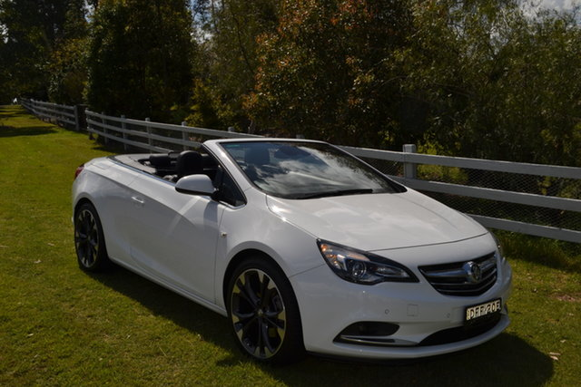 Used Holden Cascada CJ MY16 , 2016 Holden Cascada CJ MY16 White 6 Speed Sports Automatic Convertible