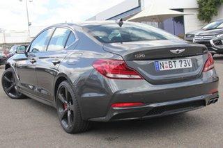 2017 Hyundai Genesis DH Ultimate Pack Grey 8 Speed Sports Automatic Sedan.