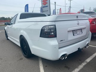 2015 Holden Ute VF II MY16 SV6 Ute White 6 Speed Manual Utility
