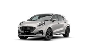 2021 Ford Puma JK 2021.25MY ST-Line V White 7 Speed Sports Automatic Dual Clutch Wagon.