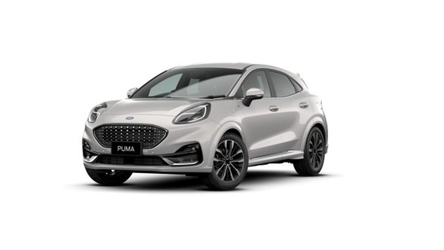 New Ford Puma JK 2021.25MY ST-Line V Springwood, 2021 Ford Puma JK 2021.25MY ST-Line V White 7 Speed Sports Automatic Dual Clutch Wagon