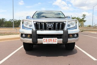 2011 Toyota Landcruiser Prado KDJ150R GXL Blue Storm 5 Speed Automatic Wagon
