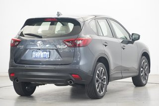 2017 Mazda CX-5 KE1032 Grand Touring SKYACTIV-Drive i-ACTIV AWD Grey 6 Speed Sports Automatic Wagon