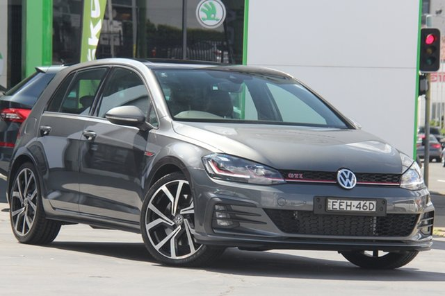Used Volkswagen Golf 7.5 MY19.5 GTI DSG, 2019 Volkswagen Golf 7.5 MY19.5 GTI DSG Grey 7 Speed Sports Automatic Dual Clutch Hatchback