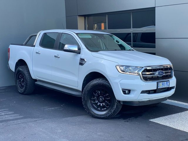 Used Ford Ranger PX MkIII 2019.00MY XLT, 2018 Ford Ranger PX MkIII 2019.00MY XLT White 6 Speed Sports Automatic Utility