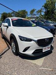 2019 Mazda CX-3 MAXX SPORT White 6 Speed Manual Wagon.