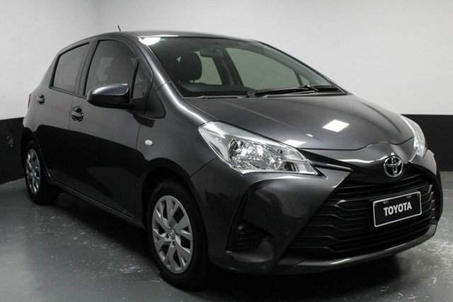 Used Toyota Yaris NCP130R Ascent, 2018 Toyota Yaris NCP130R Ascent Grey 5 Speed Manual Hatchback
