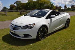 2016 Holden Cascada CJ MY16 White 6 Speed Sports Automatic Convertible