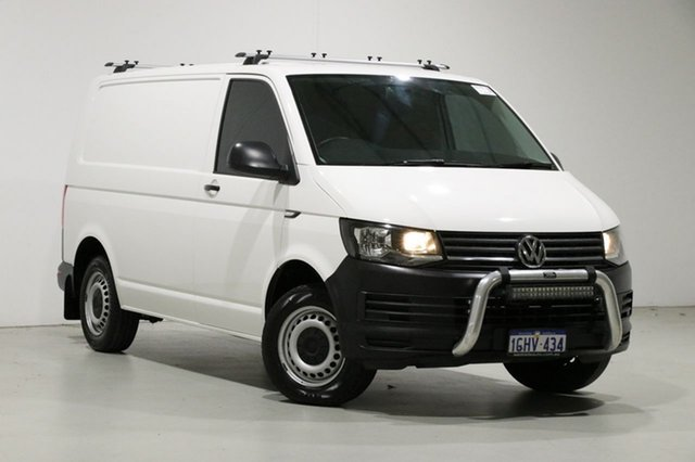 Used Volkswagen Transporter T6 MY17 TDI 340 SWB Mid, 2017 Volkswagen Transporter T6 MY17 TDI 340 SWB Mid White 6 Speed Manual Van