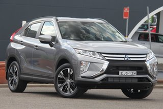 2020 Mitsubishi Eclipse Cross YA MY20 ES 2WD Grey 8 Speed Constant Variable Wagon.