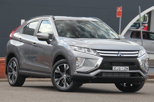 Used Mitsubishi Eclipse Cross YA MY20 ES 2WD Parramatta, 2020 Mitsubishi Eclipse Cross YA MY20 ES 2WD Grey 8 Speed Constant Variable Wagon