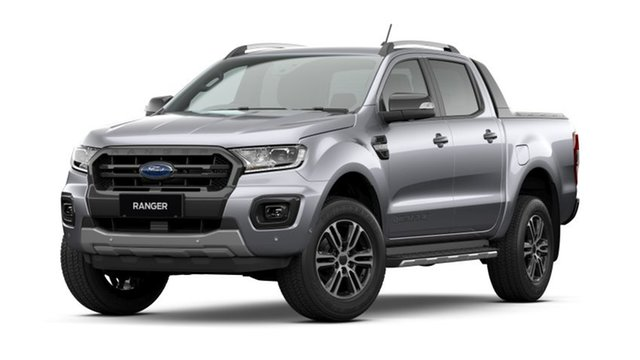 New Ford Ranger PX MkIII 2020.75MY Wildtrak, 2020 Ford Ranger PX MkIII 2020.75MY Wildtrak Silver 6 Speed Sports Automatic Double Cab Pick Up