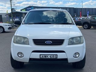 2005 Ford Territory TX White Sports Automatic Wagon.