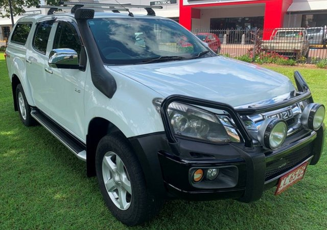 Used Isuzu D-MAX MY12 LS-U Space Cab, 2012 Isuzu D-MAX MY12 LS-U Space Cab White 5 Speed Manual Utility