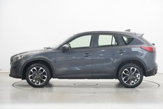 2017 Mazda CX-5 KE1032 Grand Touring SKYACTIV-Drive i-ACTIV AWD Grey 6 Speed Sports Automatic Wagon.