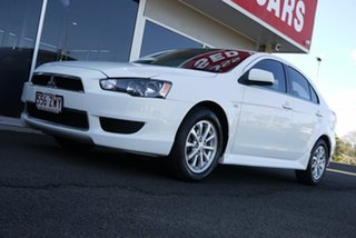 2013 Mitsubishi Lancer CJ MY14 LX Sportback 6 Speed Constant Variable Hatchback.