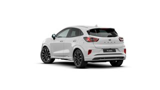 2020 Ford Puma JK 2021.25MY ST-Line V Frozen White 7 Speed Sports Automatic Dual Clutch Wagon