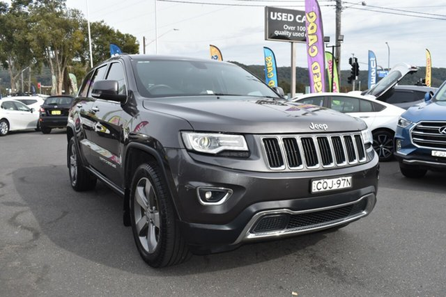 Used Jeep Grand Cherokee WK MY2014 Limited, 2013 Jeep Grand Cherokee WK MY2014 Limited Granite Crystal 8 Speed Sports Automatic Wagon