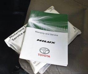 2014 Toyota Hilux KUN26R MY12 SR (4x4) White 4 Speed Automatic Dual Cab Pick-up