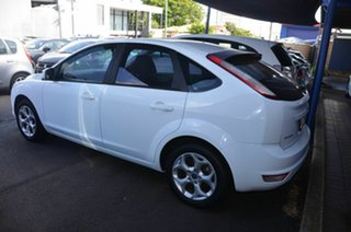 2011 Ford Focus LV MY11 LX White 5 Speed Manual Hatchback.
