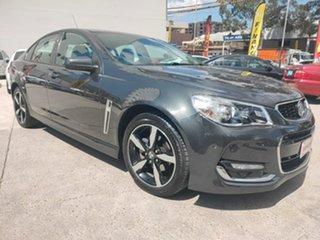 2017 Holden Commodore VF II MY17 SV6 Grey 6 Speed Sports Automatic Sedan.