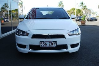 2013 Mitsubishi Lancer CJ MY14 LX Sportback 6 Speed Constant Variable Hatchback
