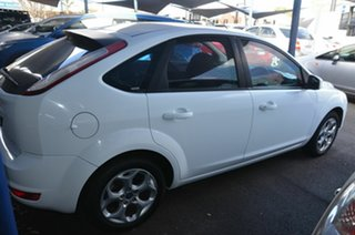 2011 Ford Focus LV MY11 LX White 5 Speed Manual Hatchback