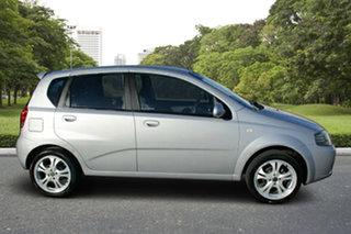 2006 Holden Barina TK Silver 4 Speed Automatic Hatchback.