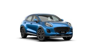 2021 Ford Puma JK 2021.25MY Puma Desert Island Blue 7 Speed Sports Automatic Dual Clutch Wagon