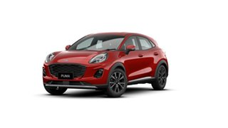 2020 Ford Puma JK 2020.75MY Puma Lucid Red 7 Speed Sports Automatic Dual Clutch Wagon.