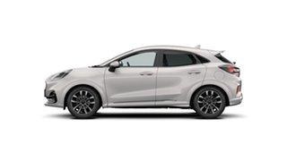 2020 Ford Puma JK 2021.25MY ST-Line V Metropolis White 7 Speed Sports Automatic Dual Clutch Wagon.