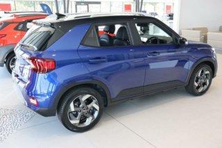 2020 Hyundai Venue QX.2 MY20 Elite Intense Blue 6 Speed Automatic Wagon.