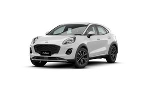 2020 Ford Puma JK 2020.75MY Puma Frozen White 7 Speed Sports Automatic Dual Clutch Wagon.