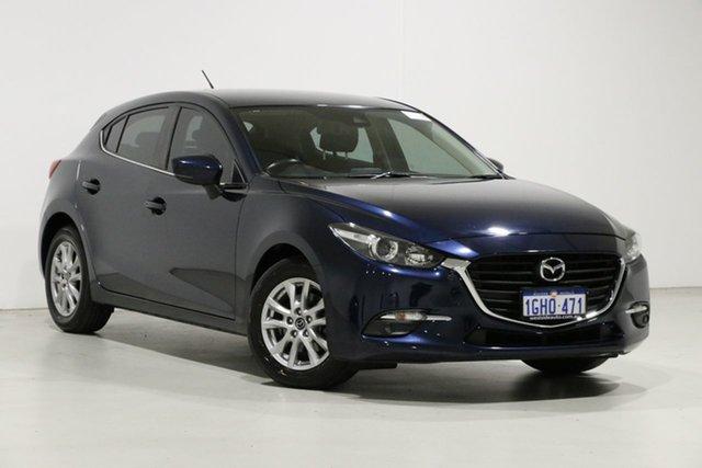 Used Mazda 3 BN MY17 Maxx Bentley, 2017 Mazda 3 BN MY17 Maxx Blue 6 Speed Automatic Hatchback