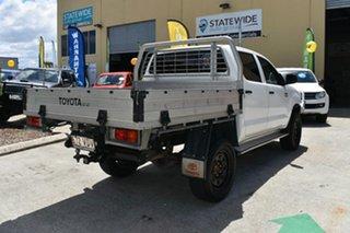 2014 Toyota Hilux KUN26R MY12 SR (4x4) White 4 Speed Automatic Dual Cab Pick-up.