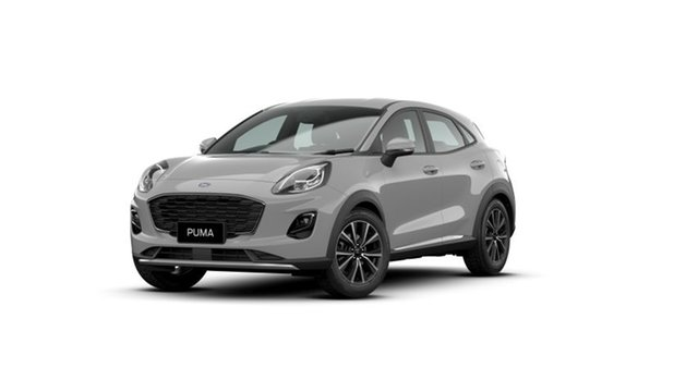 New Ford Puma JK 2021.25MY Puma Springwood, 2021 Ford Puma JK 2021.25MY Puma Grey 7 Speed Sports Automatic Dual Clutch Wagon