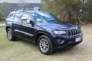 2013 Jeep Grand Cherokee WK MY2014 Laredo Blue 8 Speed Sports Automatic Wagon.