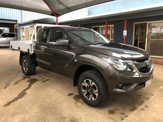 2017 Mazda BT-50 MY17 Update XT Hi-Rider (4x2) Brown 6 Speed Manual Freestyle Cab Chassis.