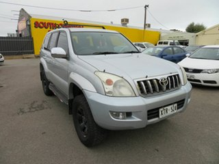 2008 Toyota Landcruiser Prado GRJ120R 07 Upgrade GX (4x4) Silver 5 Speed Automatic Wagon.