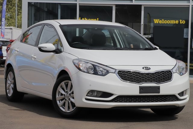 Used Kia Cerato YD MY15 S Premium, 2015 Kia Cerato YD MY15 S Premium White 6 Speed Sports Automatic Sedan