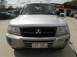 2003 Mitsubishi Pajero GLS Silver Wagon.