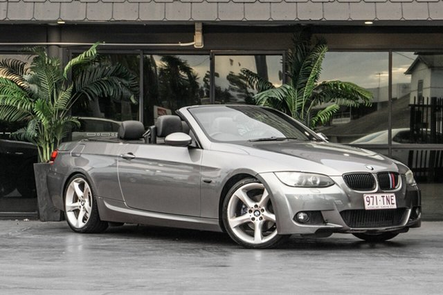 Used BMW 3 Series E93 MY08 325i Steptronic, 2008 BMW 3 Series E93 MY08 325i Steptronic Grey 6 Speed Sports Automatic Convertible