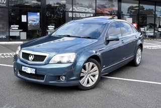 2008 Holden Caprice WM Green 6 Speed Sports Automatic Sedan.