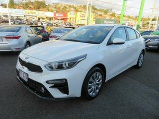 2019 Kia Cerato BD MY19 S White 6 Speed Sports Automatic Hatchback.