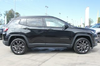 2020 Jeep Compass M6 MY20 S-Limited Brilliant Black 9 Speed Automatic Wagon